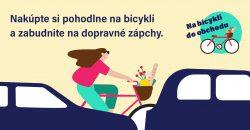 Nakupujeme na bicykli ekologicky a s úsmevom